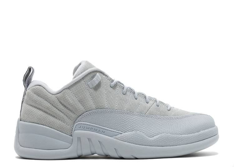 Air Jordan 12 Low Retro 'Wolf Grey'