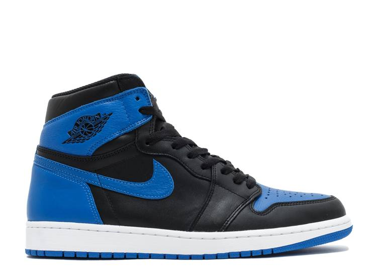 "air jordan 1 retro high og  ""royal 2017 release"""