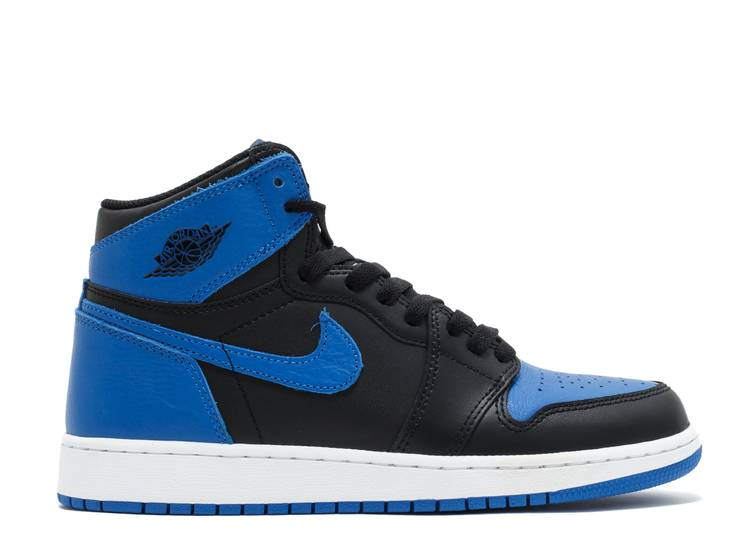 "air jordan 1 retro high og bg (gs) ""Royal"""
