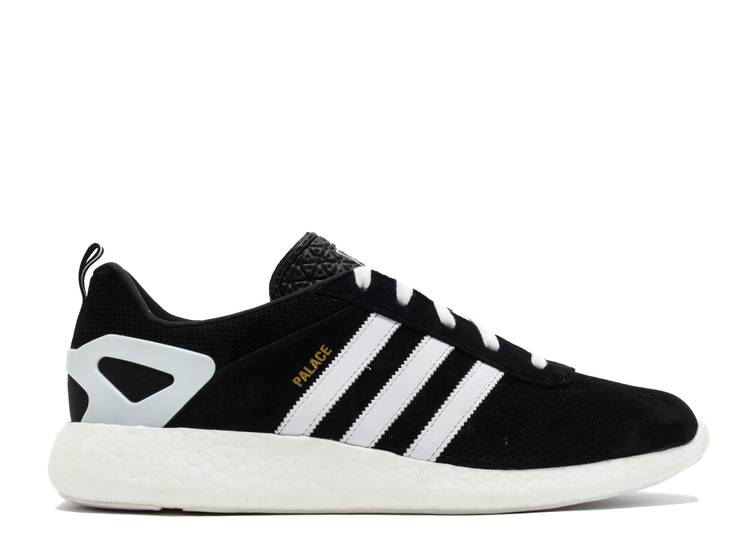 Palace Pro Boost 'Black White Gold'