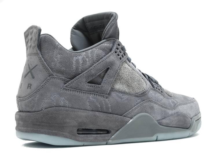 KAWS x Air Jordan 4 Retro 'Cool Grey'