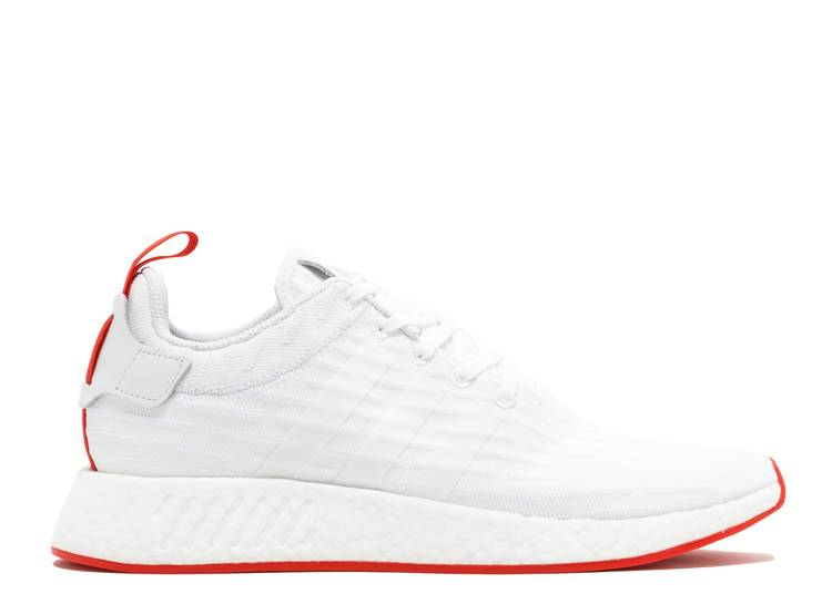 adidas nmd r2 white and red