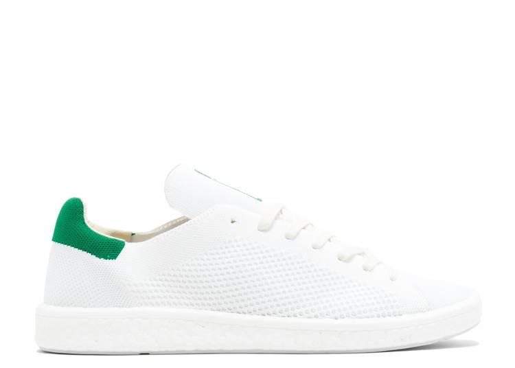 Stan Smith Boost Primeknit 'White Green'