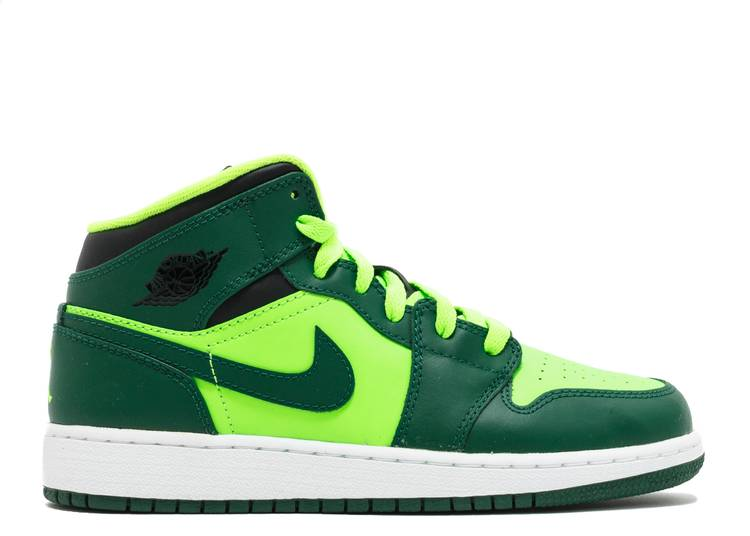 Air Jordan 1 Mid GS 'Gorge Green'