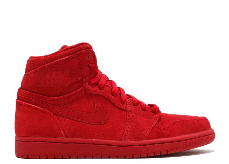 Air Jordan 1 Retro High 'Red Suede'