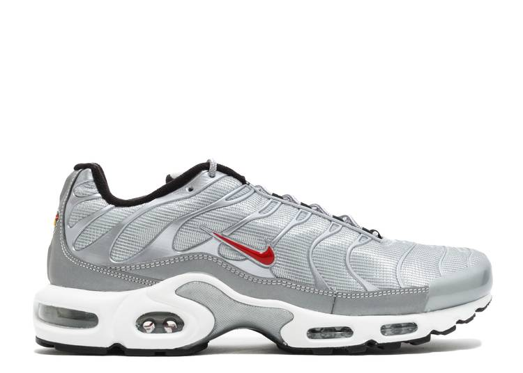 Bóveda Simpático Dictadura  Air Max Plus QS 'Silver Bullet' - Nike - 903827 001 - metallic silver/varsity  red-black-white | Flight Club