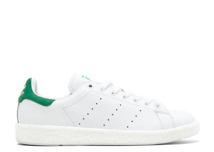 Stan Smith Boost 'White Green'
