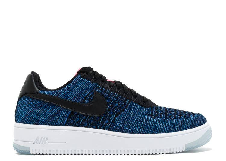 Wmns Air Force 1 Flyknit Low 'Deep Royal Blue'