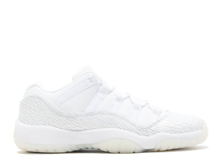Air Jordan 11 Retro Low Premium GS 'Frost White'