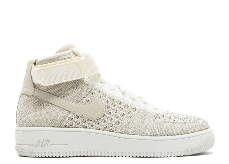 Nike Air Force 1 Flyknit cammello