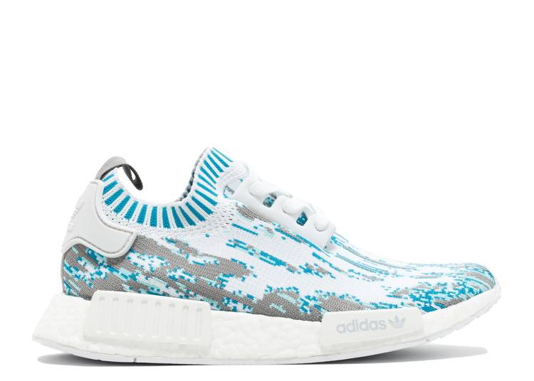 Sneakersnstuff x NMD_R1 Primeknit 'Datamosh'