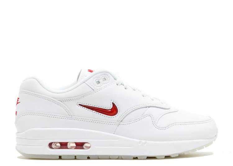 Marcha atrás Berri Instalaciones  Air Max 1 Premium SC Jewel 'White Red' - Nike - 918354 104 -  white/university red/university red | Flight Club