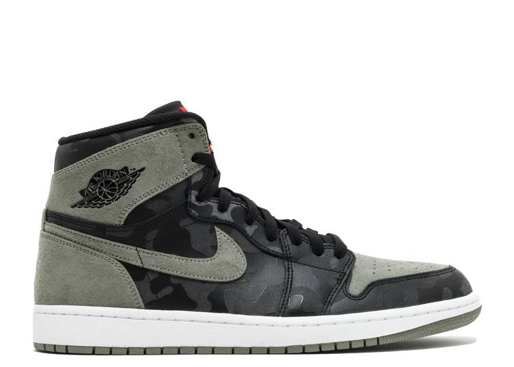 Air Jordan 1 Retro High Premium 'Shadow Camo'