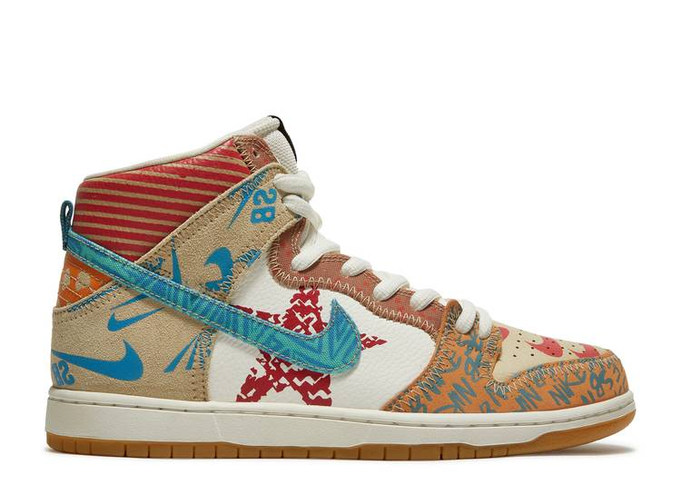"nike sb zoom dunk high prem ""what the"""