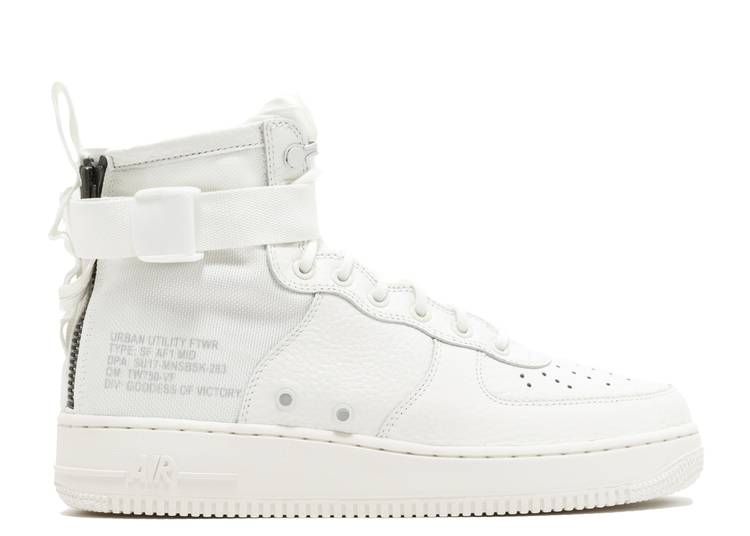 SF Air Force 1 Mid 'Triple Ivory'