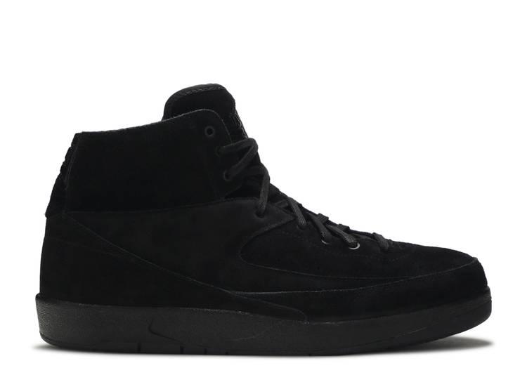 Air Jordan 2 Retro Deconstructed 'Triple Black'