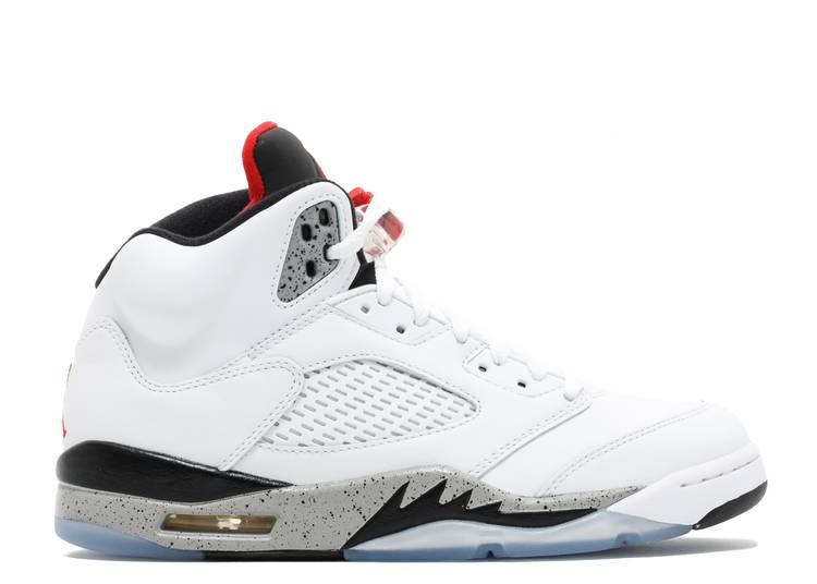 "air jordan 5 retro  ""white cement """