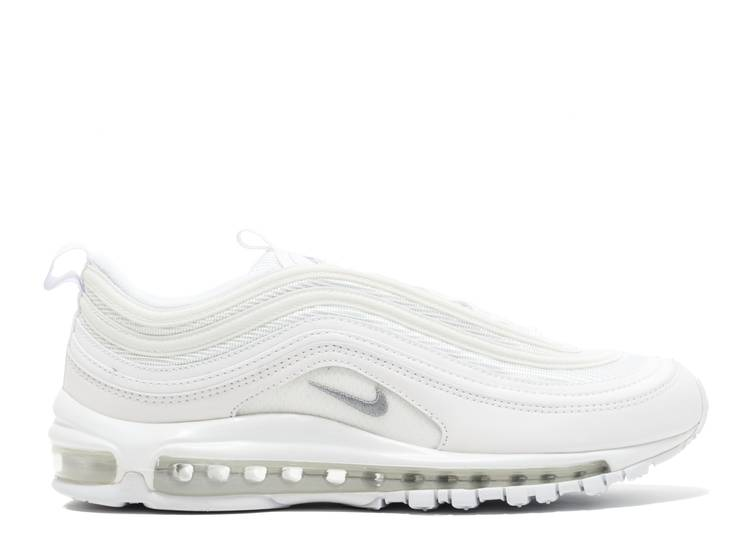 "nike air max 97 ""Triple White"""