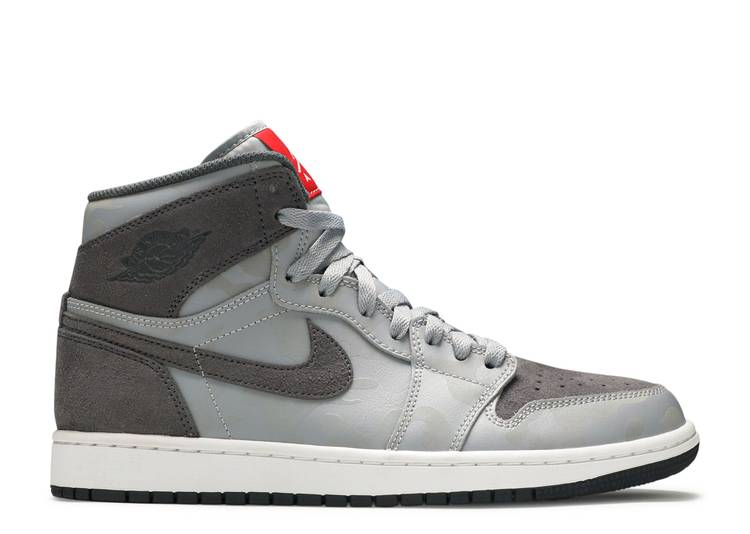 Air Jordan 1 Retro High Premium Grey Camo Air Jordan Aa3993