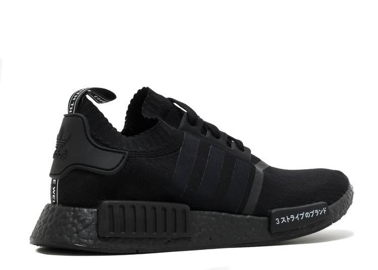 Loza de barro Claraboya enaguas  NMD_R1 Primeknit 'Japan Triple Black' - Adidas - BZ0220 - core black/core  black/core black | Flight Club