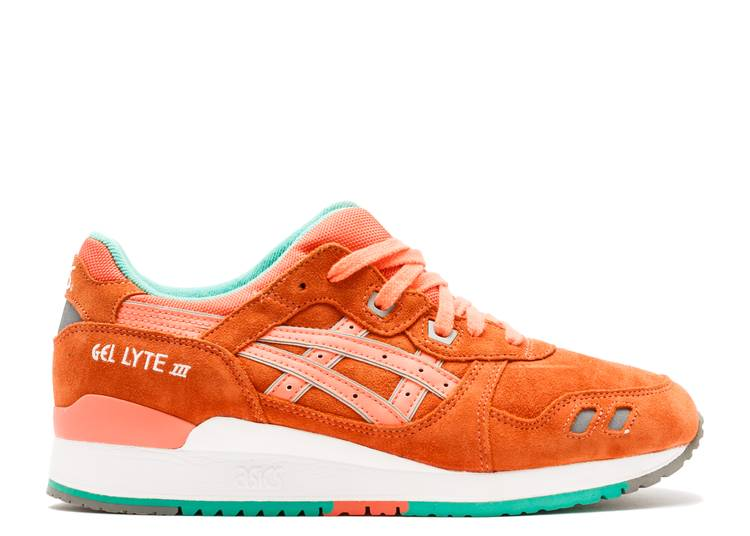 Colonial col china Traición  Gel Lyte 3 'Fresh Salmon' - ASICS - H511L 1717 - fresh salmon/fresh salmon  | Flight Club