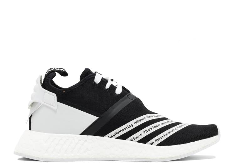 White Mountaineering x NMD_R2 Primeknit 'Core Black'