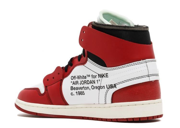 Off-White x Air Jordan 1 Retro High OG 'off white'