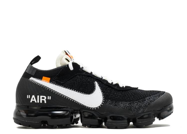 Sofocar Pakistán Mathis  Off White X Air VaporMax 'The Ten' - Nike - AA3831 001 - black/white-clear  | Flight Club