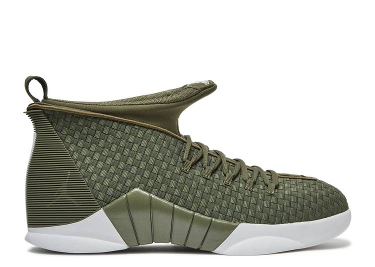 PSNY x Air Jordan 15 Retro 'Medium Olive'