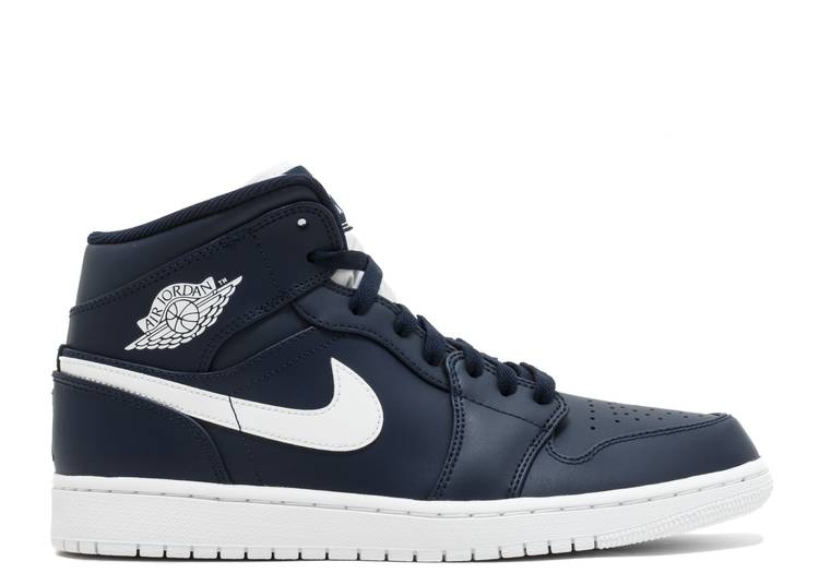 Air Jordan 1 Retro Mid 'Obsidian'
