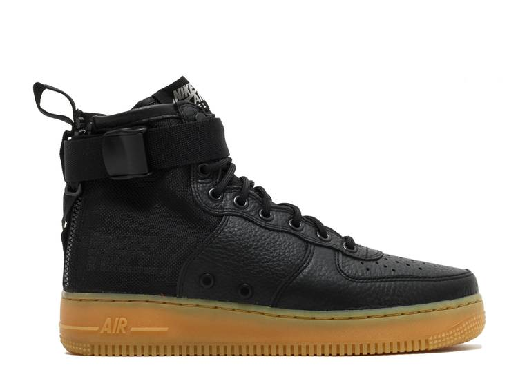 SF Air Force 1 Mid 'Black Gum'