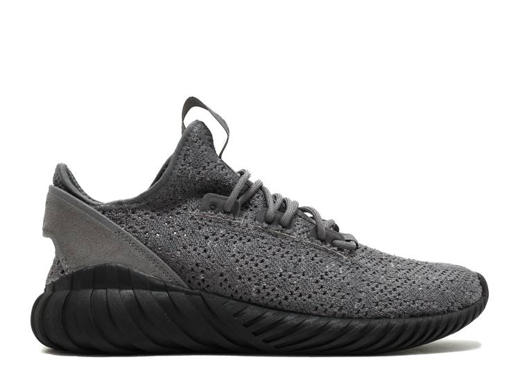 Tubular Doom Sock Primeknit 'Grey Black'