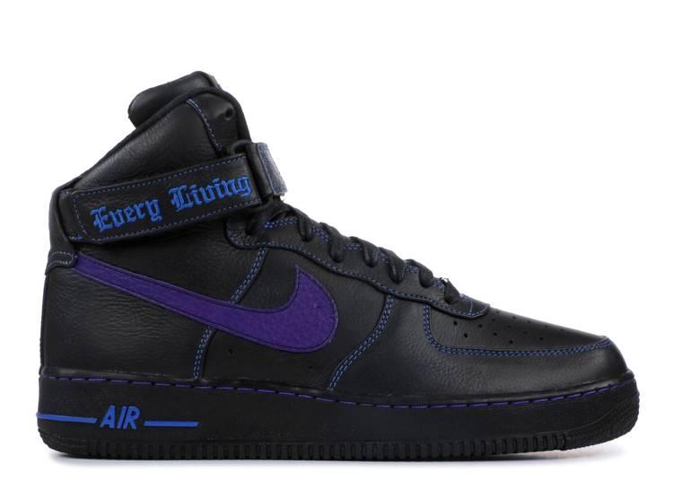 Vlone x Air Force 1 High 'Purple Swoosh' Sample