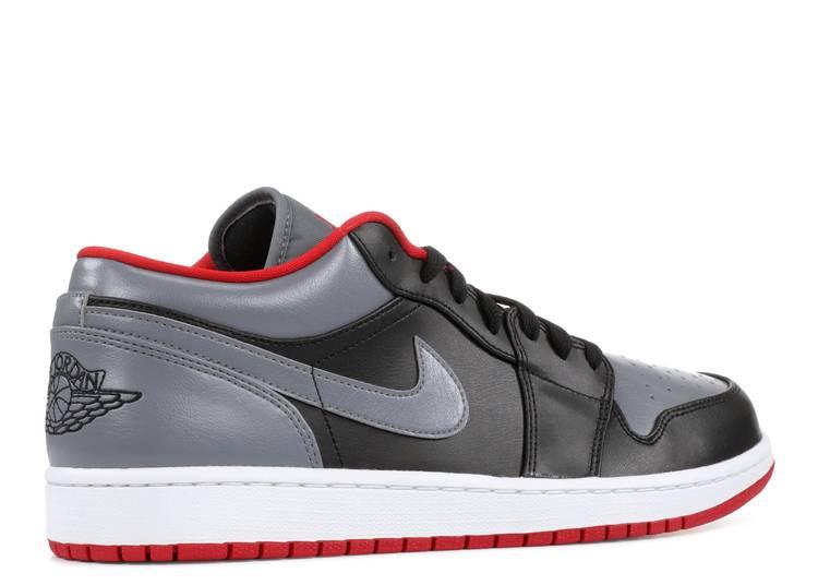 Air Jordan 1 Retro Low 'Cool Grey' - Air Jordan - 553558 012 ...