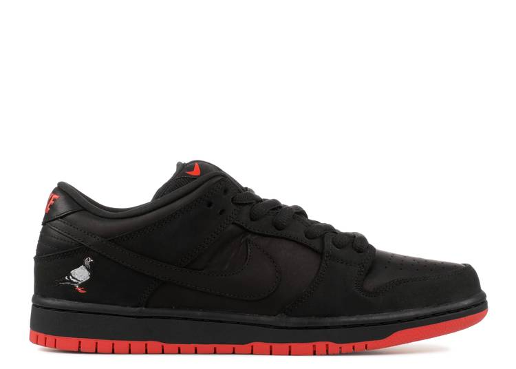 "nike sb dunk low trd qs ""black pigeon nyc exclusive"""