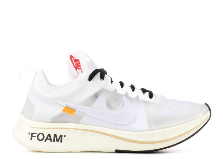 Príncipe Temprano utilizar  Off White X Zoom Fly SP 'The Ten' - Nike - AJ4588 100 - white/white-muslin  | Flight Club