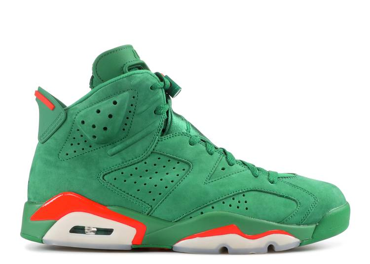 Air Jordan 6 Retro NRG 'Green Suede Gatorade'