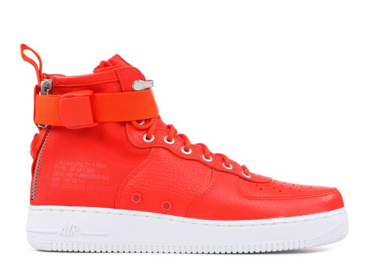 SF Air Force 1 Mid 'Team Orange'