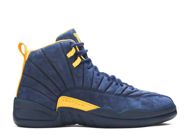 PSNY x Air Jordan 12 Retro 'Michigan Wolverines' PE