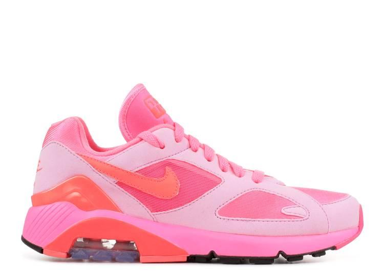 Comme des Garçons x Air Max 180 'Triple Pink'