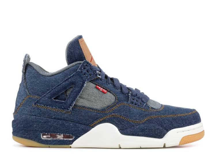 Levi's x Air Jordan 4 Retro 'Denim'