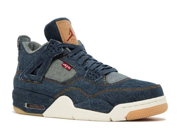 Levi's x Air Jordan 4 Retro 'Denim'