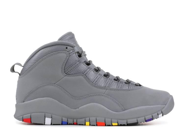 air jordan 10 retro  'cool grey '