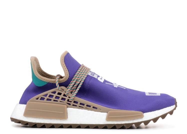 Abandono estimular Inevitable  Pharrell X NMD Human Race Trail 'Respira' Friends And Family - Adidas -  AC7187 - purple/khaki | Flight Club