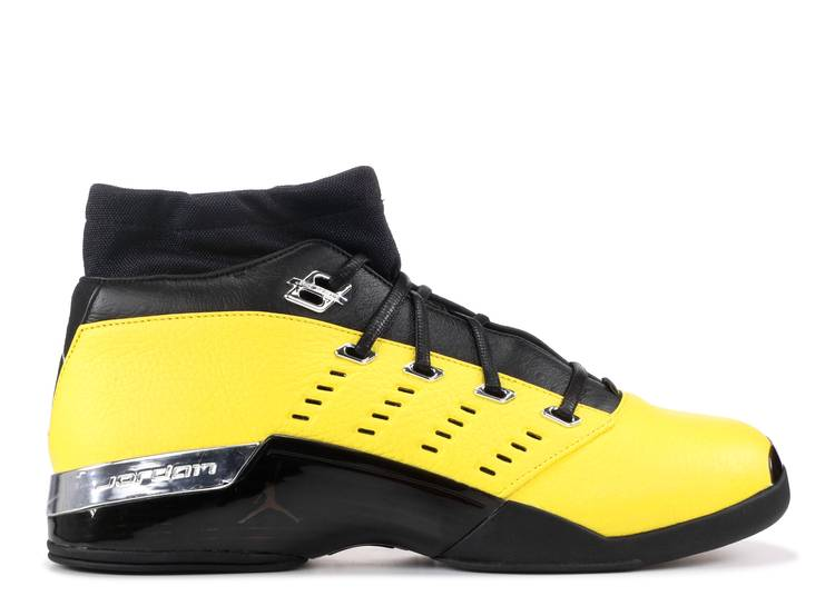 SoleFly x Air Jordan 17 Retro Low 'Reverse Lightning'