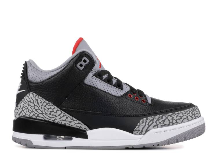 air jordan 3 retro og 'Black Cement'