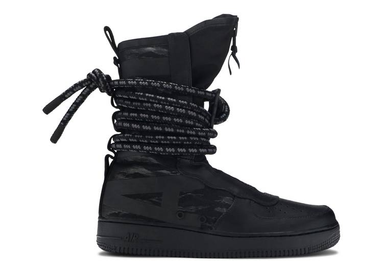 SF Air Force 1 High 'Black'