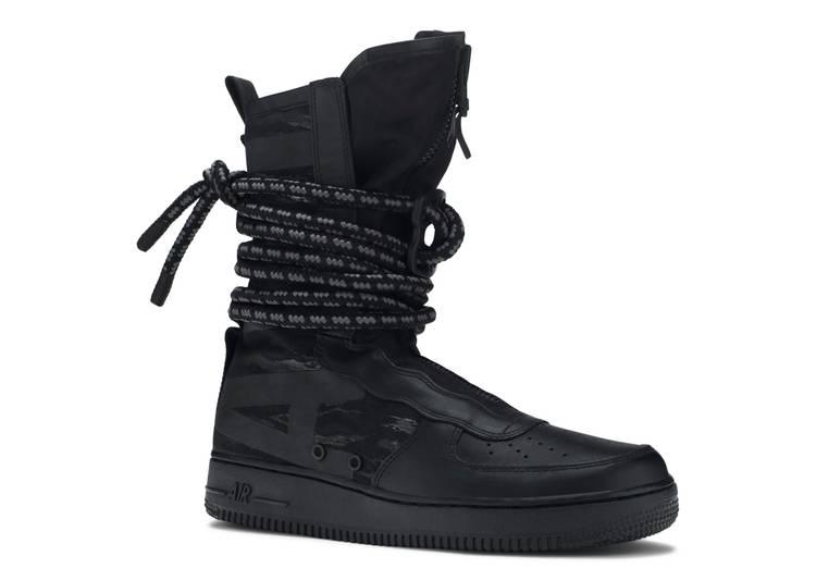 SF Air Force 1 High 'Black'