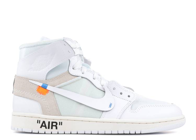 Off-White x Air Jordan 1 Retro High OG 2018 'White'
