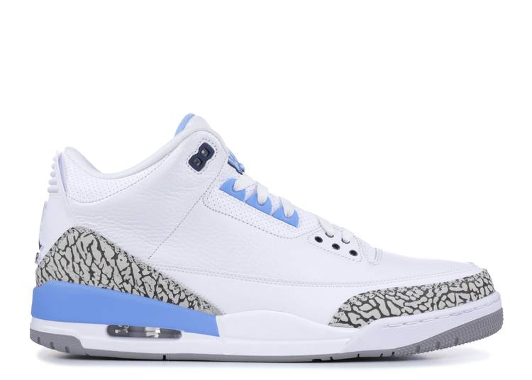 Air Jordan 3 Retro 'UNC' Player Exclusive